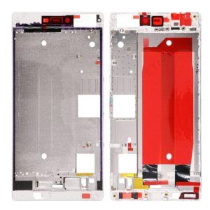 Front Housing Screen Frame Bezel for Huawei Ascend P8(White)
