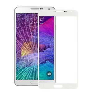 Front Screen Outer Glass Lens for Galaxy Note 4 / N910(White)