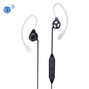 OVLENG S5 In-Ear Ear Hook Wire Control Wireless Sport Bluetooth Earphones with Mic, Support Handfree Call, For iPad, iPhone, Galaxy, Huawei, Xiaomi, LG, HTC and Other Smart Phones(Black) (OVLENG)