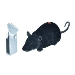 Remote Control Infrared Realistic RC Mouse Toy, Random Color Delivery