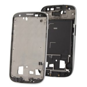 2 in 1 for Galaxy S III / i9300 (Original LCD Middle Board + Original Front Chassis)(Silver)