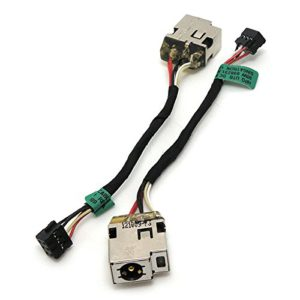 Βύσμα Τροφοδοσίας DC Power Jack Socket HP Sleekbook 15-B109WM 15-B119WM 15-B142DX 698231-YD1 698231-SD1 698231-FD1 15-B DC JACK 6 PIN (κωδ.1-3343)