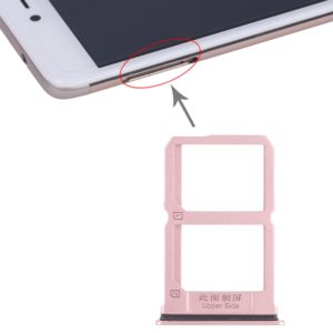 2 x SIM Card Tray for Vivo X9(Rose Gold)