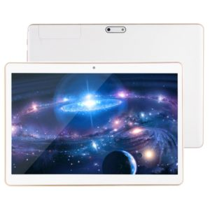 3G Phone Call Tablet PC, 10.1 inch, 2GB+32GB, Support Google Play, Android 7.0 MTK6580 Quad Core up to 1.3GHz, Dual SIM, GPS, WiFi, Bluetooth, OTG(White)