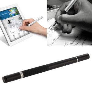 2 in 1 Stylus Touch Pen + Ball Pen, For iPhone 6 & 6 Plus / 5 & 5S & 5C, iPad Air 2 / iPad mini 1 / 2 / 3 / New iPad (iPad 3) / iPad and All Capacitive Touch Screen(Black)