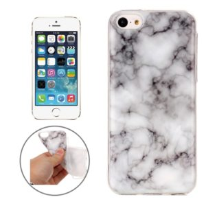 Marble Pattern Soft TPU Protective Case For iPhone 5C