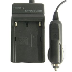 Digital Camera Battery Charger for SONY FM50/ 70/ 90/ QM71D/ 91D(Black)