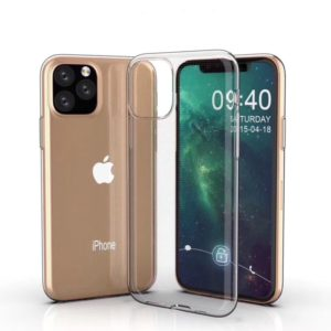 0.75mm Ultra-thin Shockproof TPU Protective Case for iPhone 11 Pro Max(Transparent)