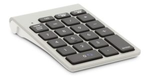 LMP Bluetooth NexGen Aluminium numerical Keypad με 21 πλήκτρα, wireless, aluminium design, OS X - 11400