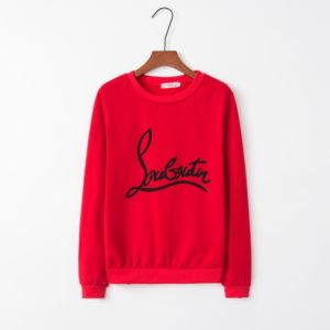 Personalized Loose Printed Sweatshirt (Color:Red Size:S)