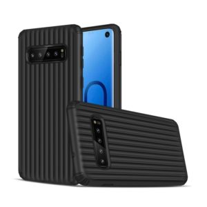 Travel Box Shape TPU + PC Protective Case for Galaxy S10 (Black)