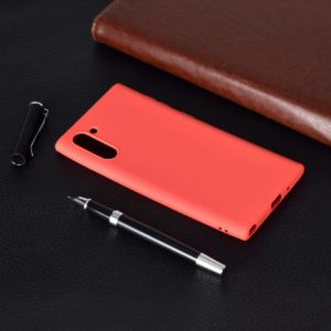 For Galaxy Note10 Candy Color TPU Case(Red)
