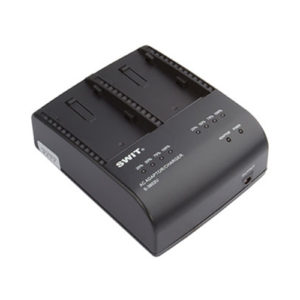 SWIT S-3602U 2-ch SONY BP-U Charger and Adaptor