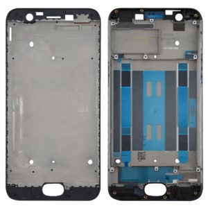 For OPPO A57 Front Housing LCD Frame Bezel Plate(Black)