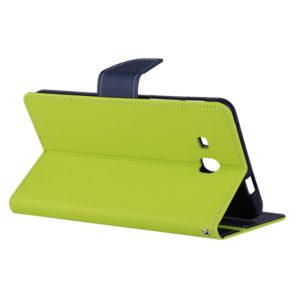 For Galaxy Tab A 7.0 (2016) / T285 Anti-slip Horizontal Flip Leather Case with Holder(Green)