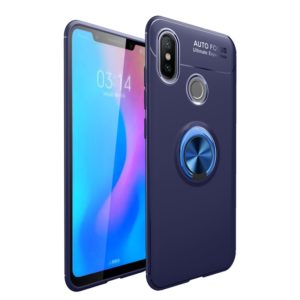 lenuo Shockproof TPU Case for Xiaomi Redmi Note 5 Pro (India Version) , with Invisible Holder (lenuo)