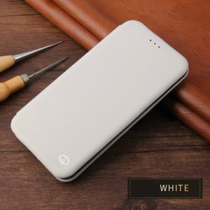 Leather Protective Case For iPhone XS Max(White)