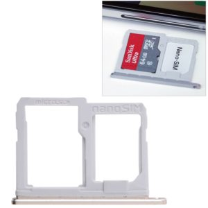 SIM Card Tray + Micro SD Card Tray for LG Q6 / M700 / M700N / G6 Mini(Gold)