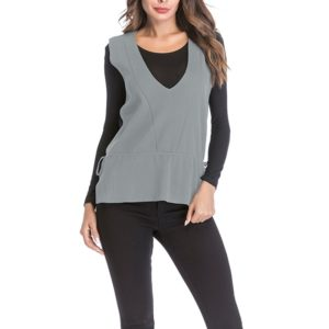 Autumn and Winter Retro Sweater (Color:Grey Size:XL)
