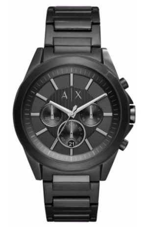 Armani Exchange AX2601 Drexler Black Stainless Steel Watch