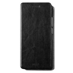 MOFI for Xiaomi Redmi 4A Crazy Horse Texture Horizontal Flip Leather Case with Holder (Black) (MOFI)