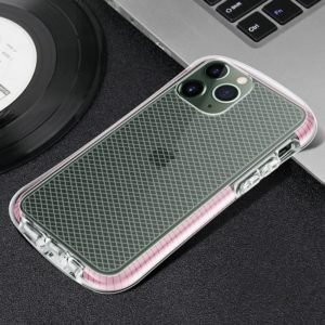 For iPhone 11 Pro Max Colorful Small Pretty Waist TPU Protective Case(Pink)