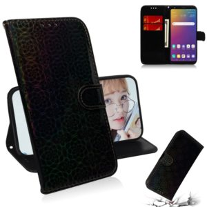 For LG Stylo 5 Solid Color Colorful Magnetic Buckle Horizontal Flip PU Leather Case with Holder & Card Slots & Wallet & Lanyard(Black)
