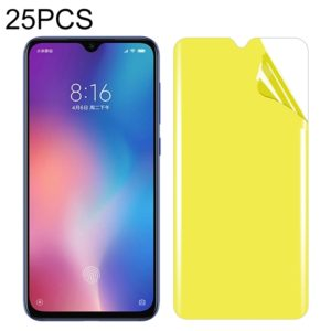 25 PCS For Xiaomi Mi 9 SE Soft TPU Full Coverage Front Screen Protector