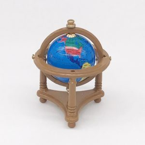3 PCS Doll House Mini Globe Living Room Accessories Children Educational Toys, Random Color Dlivery