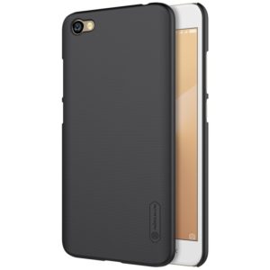 NILLKIN Frosted Shield for Xiaomi Redmi Note 5A Concave-convex Texture PC Protective Case Back Cover (Black) (NILLKIN)