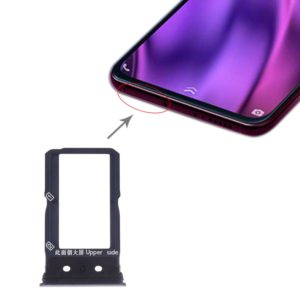 SIM Card Tray + SIM Card Tray for Vivo NEX Dual Display (Black)