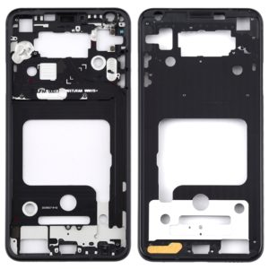 Front Housing LCD Frame Bezel Plate for LG V35 ThinQ (Black)
