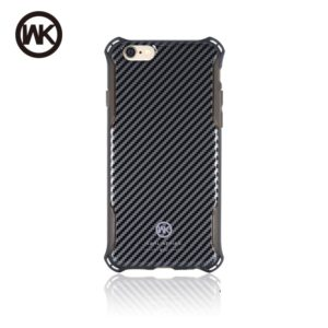 WK EARL ΘΗΚΗ iPHONE 6/6S PLUS CARBON - WK-EARL-6SP-CARBON