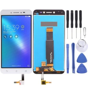 LCD Screen and Digitizer Full Assembly for Asus ZenFone Live / ZB501KL (White)