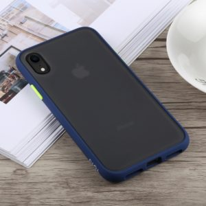 TOTUDESIGN Gingle Series Shockproof TPU+PC Case for iPhone XR (Blue) (TOTUDESIGN)