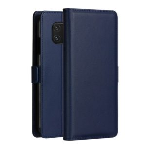DZGOGO MILO Series PC + PU Horizontal Flip Leather Case for Huawei Mate 20 Pro, with Holder & Card Slot & Wallet(Blue) (DZGOGO)
