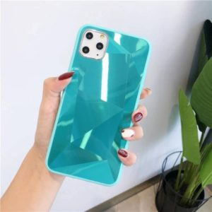For iPhone 11 Pro Shockproof Diamond Texture TPU Jelly Protective Case(Blue)