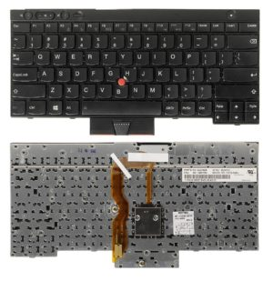 Πληκτρολόγιο Laptop Lenovo IBM Thinkpad T430 T430S T430I (Not Fit T430U) X230 X230T X230I (Not Fit X230S) T530 W530 OC01912 04X1228 3BL117 CS12-85CH MP11C26CH-3871W CS12-85CH US Laptop Keyboard(Κωδ.40256US)