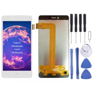LCD Screen and Digitizer Full Assembly for BQ Aquaris U / U Lite / U Plus(White)