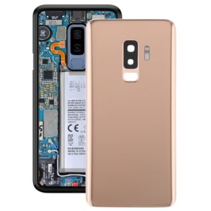 Battery Back Cover with Camera Lens for Galaxy S9+(Gold)
