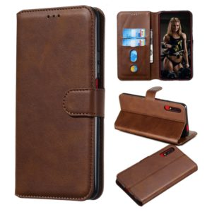 For Huawei Honor 9X / Honor 9X Pro Classic Calf Texture Horizontal Flip PU Leather Case, with Holder & Card Slots & Wallet(Brown)