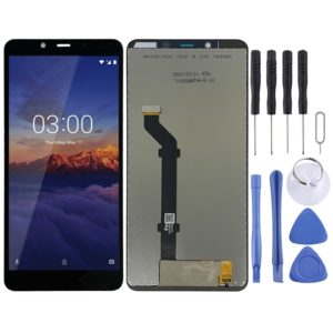 LCD Screen and Digitizer Full Assembly for Nokia 3.1 Plus (Black)