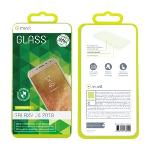 MUVIT JAPAN TEMPERED GLASS SAMSUNG J4 2018