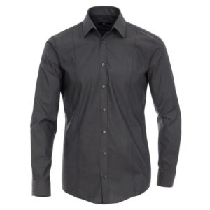 ΑΝΔΡΙΚΟ ΠΟΥΚΑΜΙΣΟ - SLIM FIT - Non-iron men s shirt - 100% COTTON - anthracite