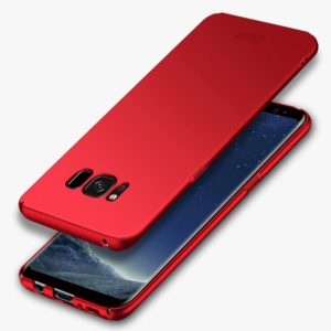 MOFI For Galaxy S8 Frosted PC Ultra-thin Edge Fully Wrapped Up Protective Case Back Cover(Red) (MOFI)