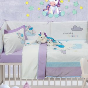 Das Home Κουβερλί Βρεφικό Σετ Baby Dream Embroidery 6463