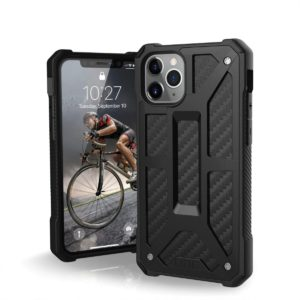 Θήκη UAG MONARCH για Apple iPhone 11 PRO ΜΑΧ - ΜΑΥΡΟ Carbon fiber - 111721114242