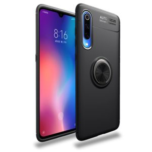 For Xiaomi Mi 9 Pro Lenuo Shockproof TPU Protective Case with Invisible Holder(Black) (lenuo)