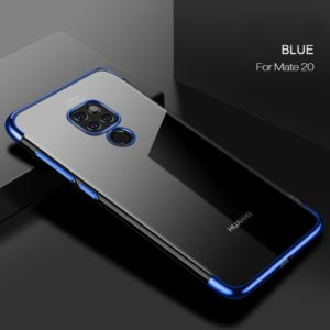 CAFELE Ultra-thin Electroplating Soft TPU Case for Huawei Mate 20(Blue) (CAFELE)