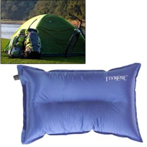 Outdoor Camping Automatic Air Pillow Camping Pillow Sleeping Bag Cushion for Leaning on Pillow, Random Color Delivery